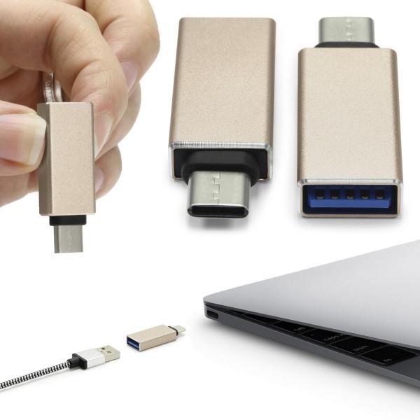 USB 3.1 Typ C USB-C auf USB 3.0 OTG USB-C Adapter Konverter Umwandler Buchse