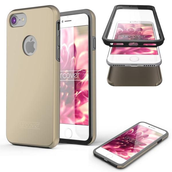 Apple iPhone 7 Touch Case 2018 Handy Schutz Hülle 360° Rundumschutz Etui Bumper