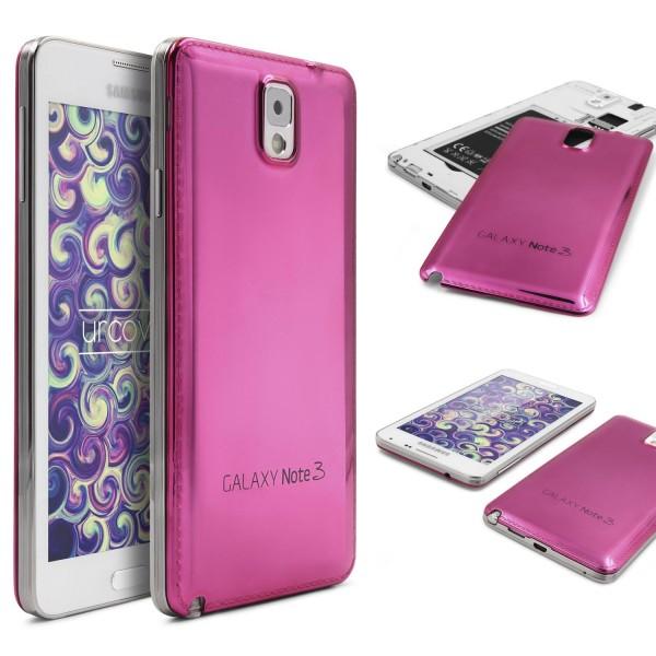 Urcover® Samsung Galaxy Note 3 Aluminium Akkudeckel Schutzhülle Case Cover Etui