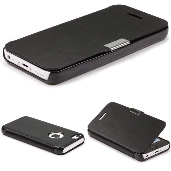 Urcover® Apple iPhone 5c Schutz Hülle Klapp Wallet Flip Case Cover Tasche Etui