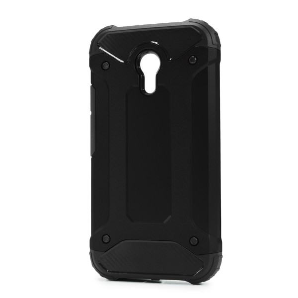 Motorola Moto G2 OUTDOOR Schutz Hülle TOP Cover Back Case Carbon Optik Etui