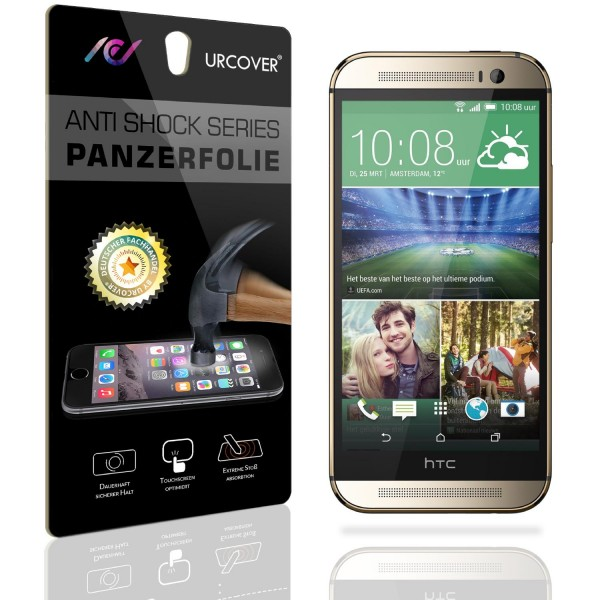 HTC One M8 Display Schutz Folie Ultra Klar PET Handy Schutzfolie Clear