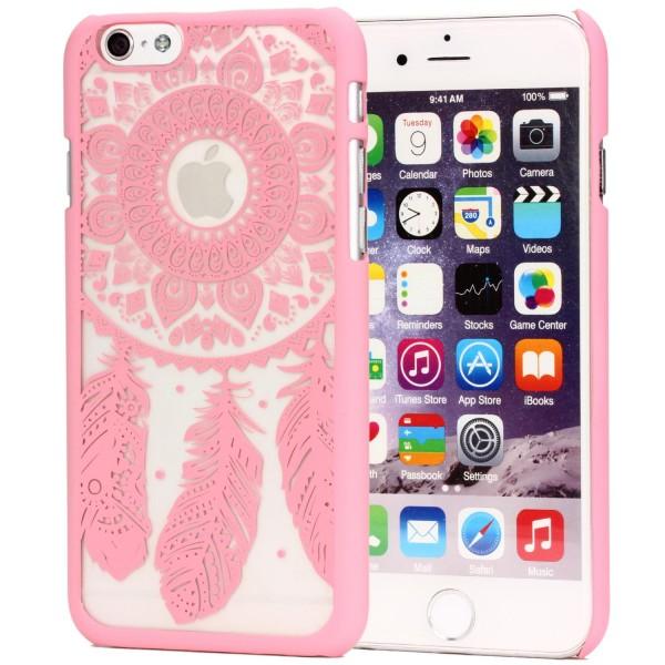 Urcover® Apple iPhone 6 Plus / 6s Plus Feder Back Case Schutz Hülle Design Cover