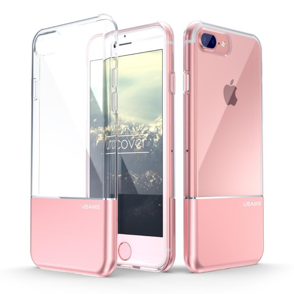Urcover® Apple iPhone 7 Plus Hard Back Case Dual Layered Cover Schale Schutz