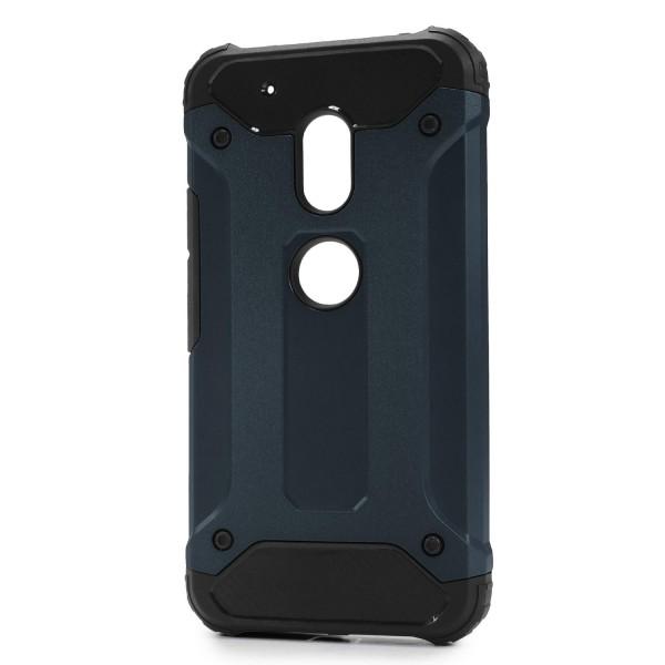 Motorola Moto G4 OUTDOOR Schutz Hülle TOP Cover Back Case Carbon Optik Etui