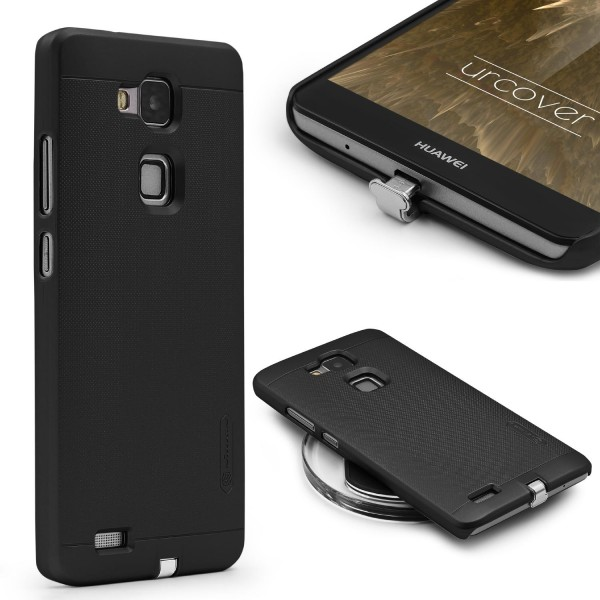 Urcover® Huawei Ascend Mate 7 Qi Case induktive lade Hülle Hard Back Case Cover