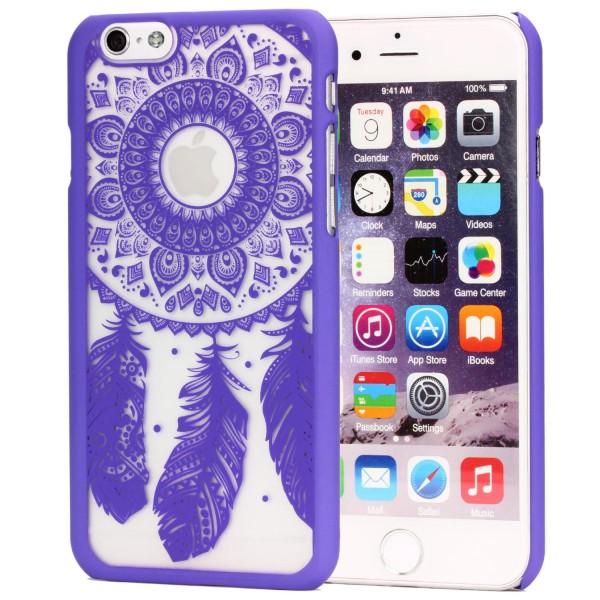 Urcover® Apple iPhone 6 / 6s Feder Back Case Schutz Hülle Design Cover Schale
