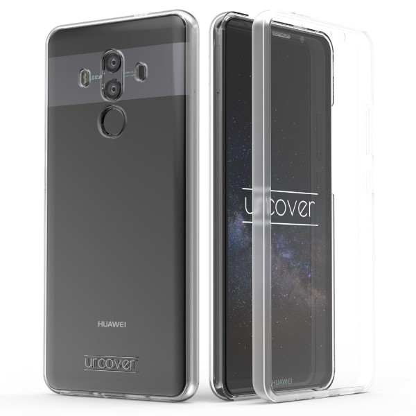 Urcover Huawei Mate 10 Pro Touch Case 2.0 Hard Edition berühmt durch Galileo Rundum 360° Crystal Clear Schutzhülle
