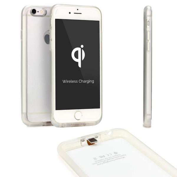 Apple iPhone 6 / 6s Qi Hülle Ladefunktion Wireless Ladeempfänger Kabellos Laden