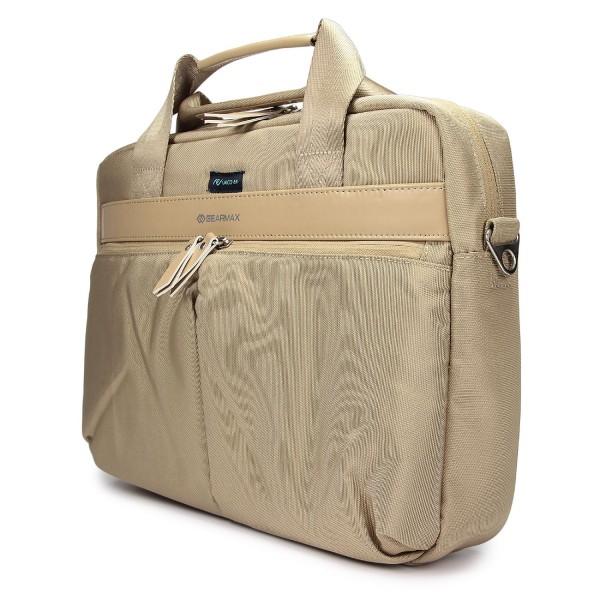 Urcover® 14,1 Zoll Kunststoff Kunstleder Laptop Rucksack Bagpack Tasche