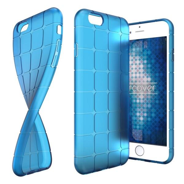 Urcover® Apple iPhone 6 / 6s TPU Chocolate Back Case klar Schutz Hülle Cover