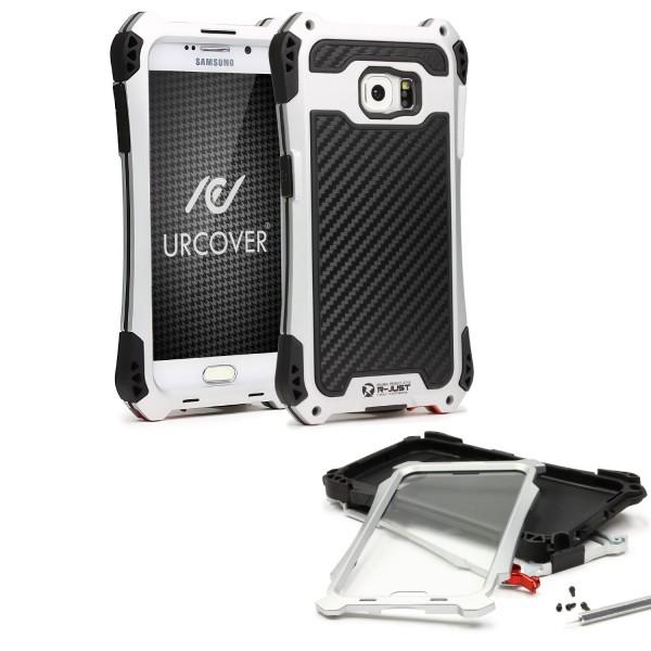 Samsung Galaxy S6 Aluminium OUTDOOR Schutz Handy Hülle Case Schale Cover
