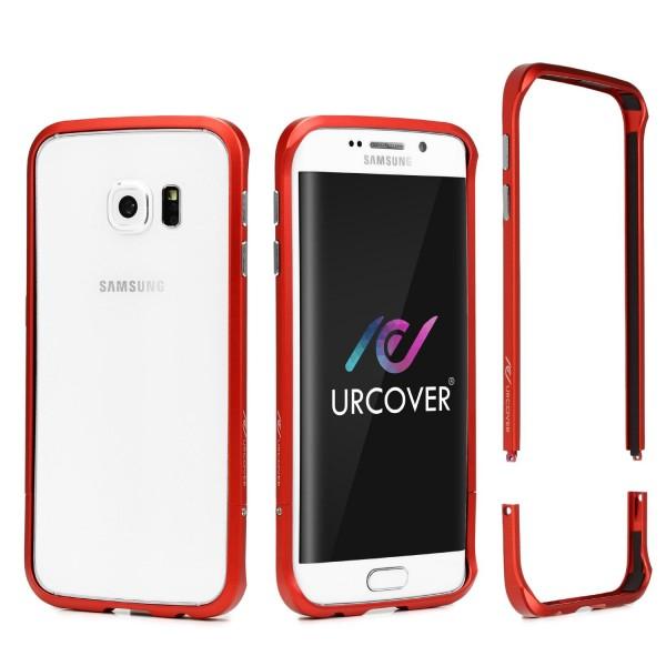 Samsung Galaxy S6 Edge Alu Bumper Schutzhülle Schraubversion Schutz Rahmen Hülle