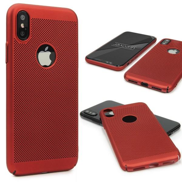 Urcover® Apple iPhone X Back Case Schutz Hülle Dünn Ultra Slim Schale Hard Cover thin Schale