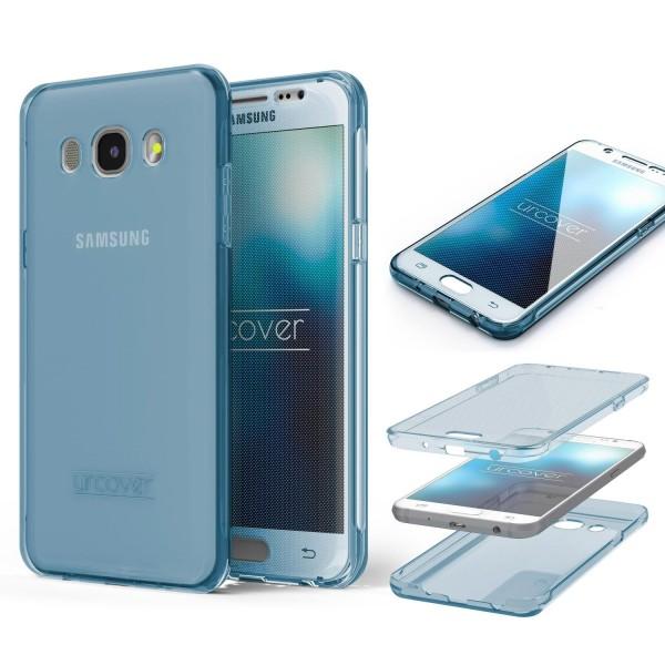 Samsung Galaxy J7 (2016) TPU Case 360 Grad Schutz Hülle Etui Cover Touch Case