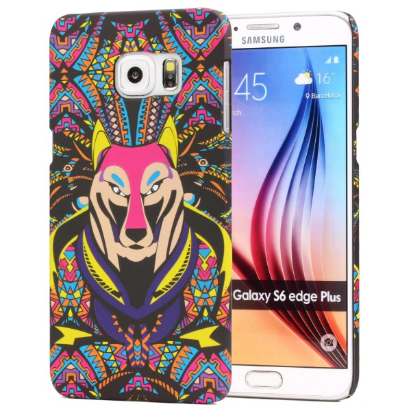 Urcover® Samsung Galaxy S6 Edge Schutz Hülle Tier Muster Hard Back Case Cover