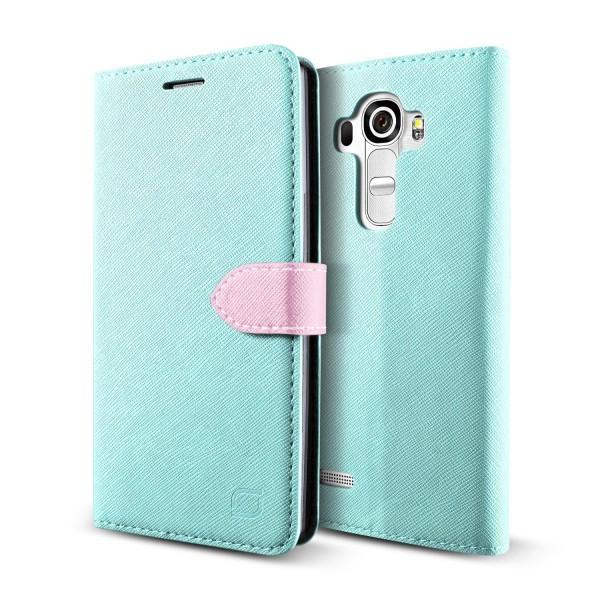 Urcover LG G4 Klapp Schutz Hülle Flip Wallet Kartenfach Case Standfunktion Cover