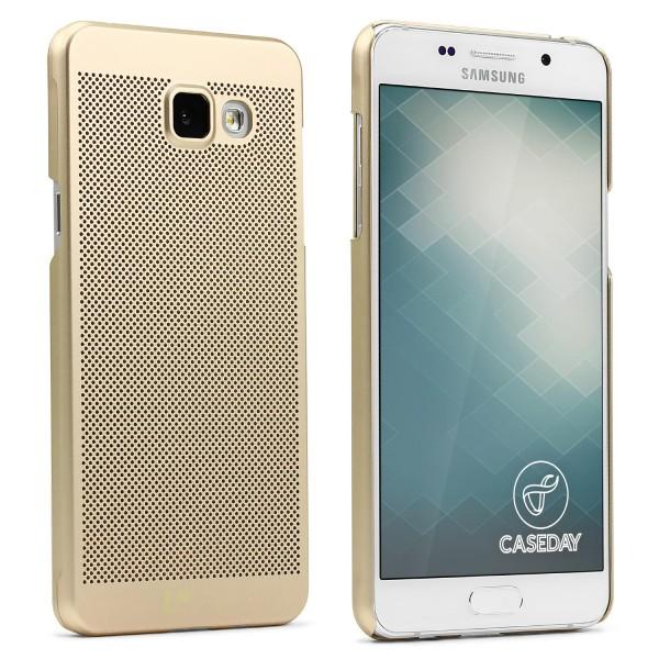 Samsung Galaxy A3 (2016) Schutzhülle TOP HAPTIK Cover Back Case Bumper Hülle