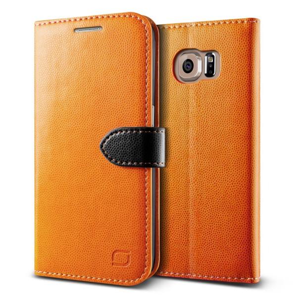 Urcover® Samsung Galaxy S6 Edge Extra Slim Klapp Schutz Hülle Case Cover Etui