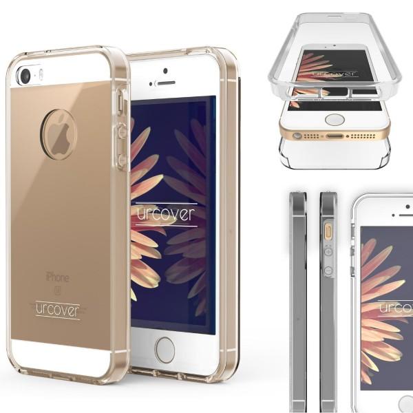 Apple iPhone 5 / 5s / SE Touch Case 2018 Handy Schutz Hülle 360° Rundumschutz