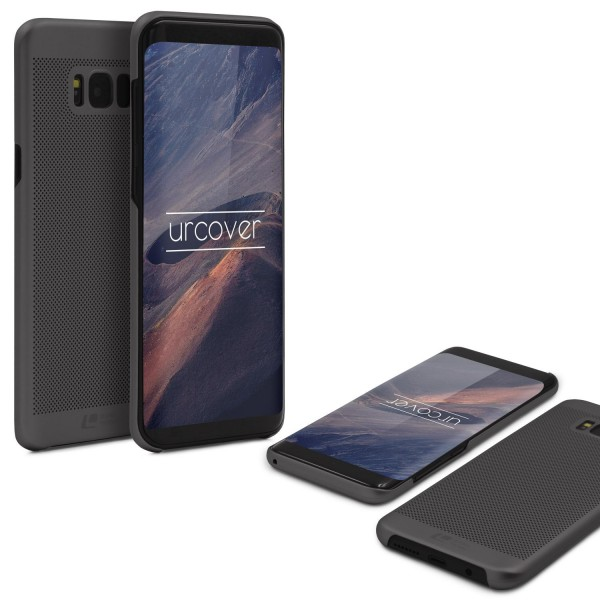 Samsung Galaxy S8 Plus Schutzhülle TOP HAPTIK Cover Back Case Bumper Hülle