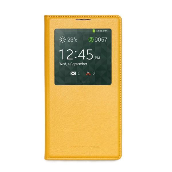 Urcover® Samsung Galaxy Note 3 S-View Wallet Schutz Hülle Case Cover Etui Schale