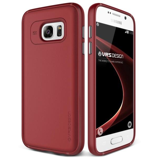 Samsung Galaxy S7 VRS Design Handytasche Schutz Hülle Cover Case Etui Schale