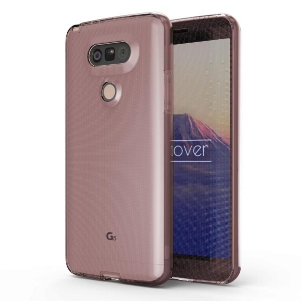 LG G5 360 Grad Rundum Schutzhülle Case TPU Etui Cover Soft Tasche Silikon Schale