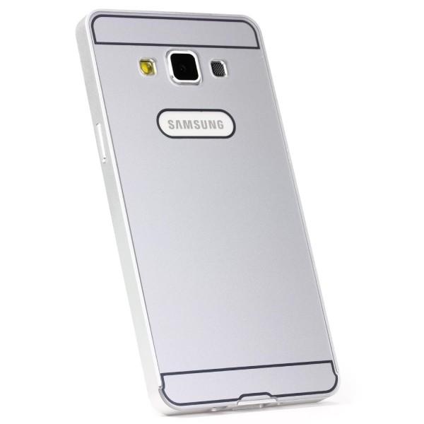 Urcover® Samsung Galaxy A3 (2015) Schutz Hülle Metall Bumper Case Cover Tasche