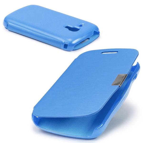 Urcover® Samsung Galaxy S Duos Schutz Hülle Klapp Wallet Flip Case Cover Tasche