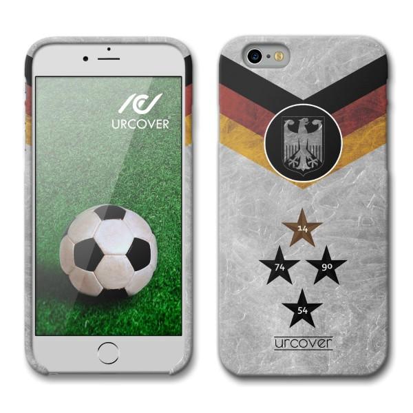 Urcover® Apple iPhone 6 / 6s Fanartikel Schutz Hülle Fußball Case Land Flagge