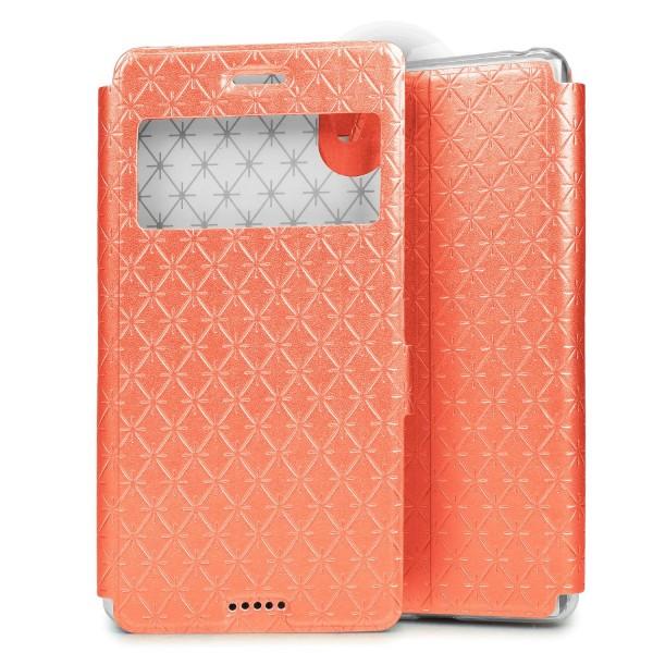 Sony Xperia X Sichtfenster Wallet Handy Schutz Hülle View Cover Flip Case Klapp