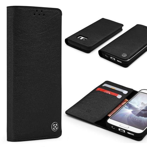 Urocver Samsung Galaxy S7 Schutzhülle Kartenfach Cover Case Schale Wallet Etui