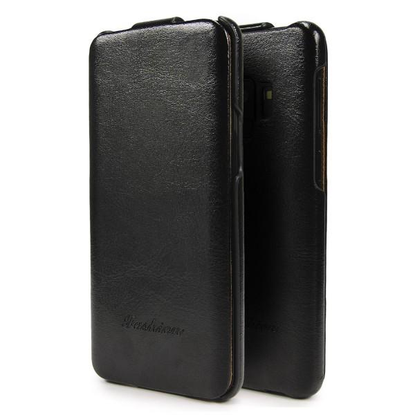 Handy Tasche für Samsung Galaxy S9 Flip Cover Schutz Hülle Kunstleder Etui Case