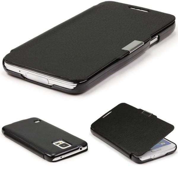 Urcover® Samsung Galaxy S5 Schutz Hülle Klapp Wallet Flip Case Cover Tasche Etui