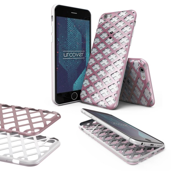 Urcover® Apple iPhone 6 / 6s Handy-Hülle 2-teilig [PC/TPU] Dual Layer Cover