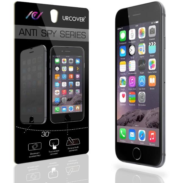Urcover Apple iPhone 6 Plus 6s Plus Anti Spy Bildschirm Blickschutz Displayfolie