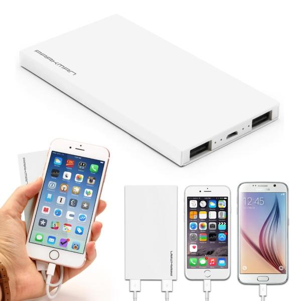 Urcover® Power Bank 6.200mAh External Battery Zusatzakku Variante Akku To Go