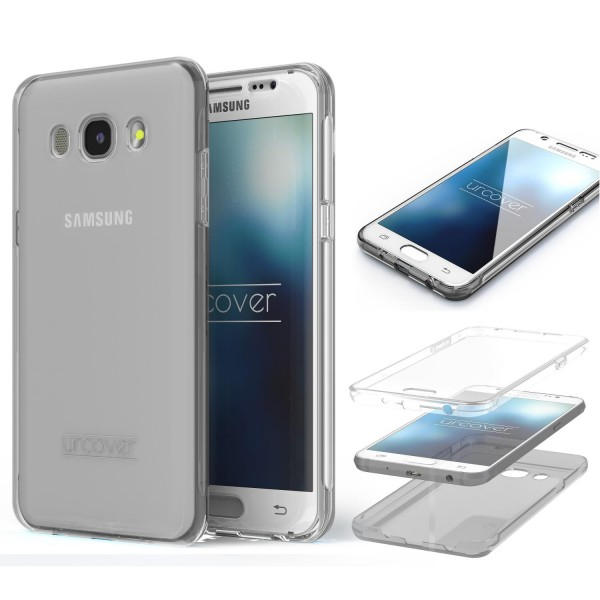 Samsung Galaxy J1 (2016) Touch Case 2018 von Galileo rundum Schutz Hülle Cover