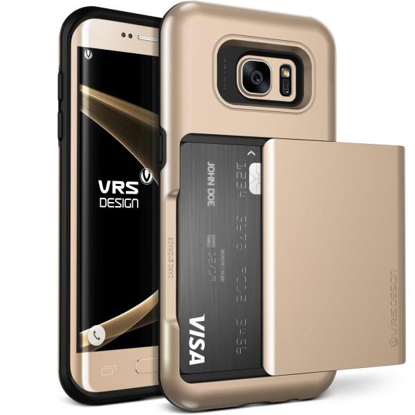 VRS Design® Samsung Galaxy S7 Edge TPU Back Case Cover Schutzhülle Standfunktion