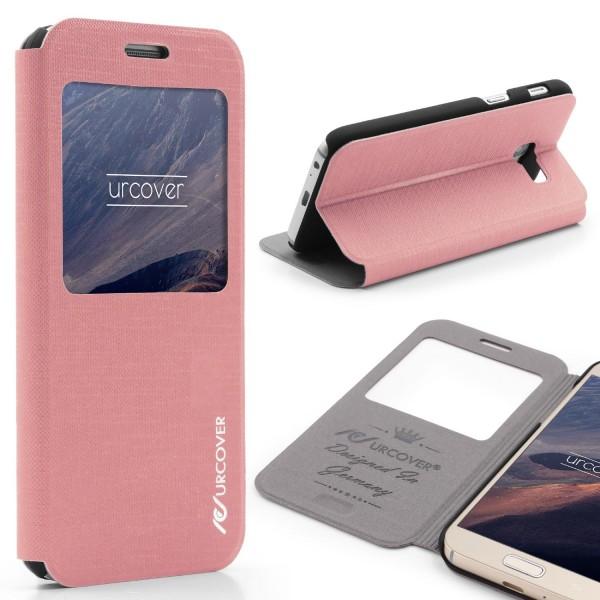 Samsung Galaxy A3 (2017) View Case Schutzhülle Wallet Cover Etui Tasche Struktur
