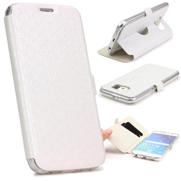 Samsung Galaxy S6 Handy Schutz Hülle Case Cover Etui Schale Tasche
