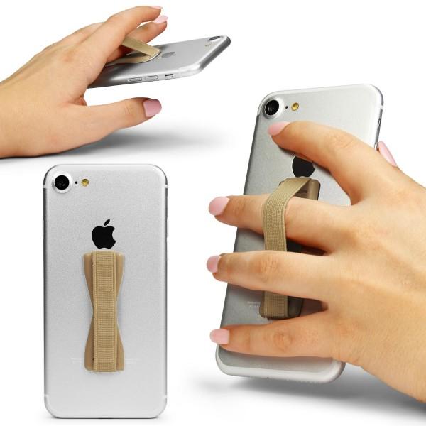 Smartphone Fingerhalter Selfie Strap Finger-Halterung Halter elastischer Griff
