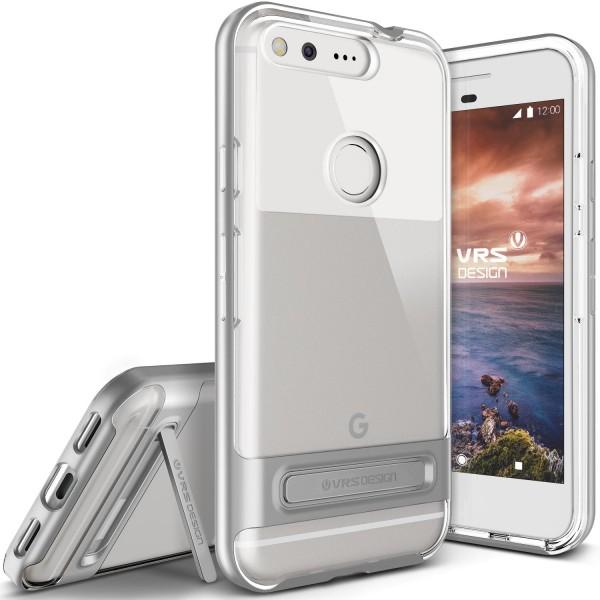Google Pixel XL Handy Schutz Hülle Case Crystal Bumper Slim Schale Cover