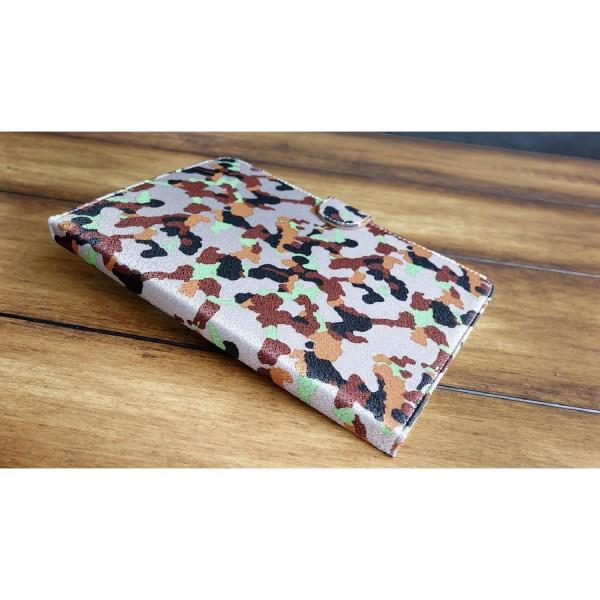 Urcover® Apple iPad Mini Tarn Optik Schutz Hülle Case Cover Etui Flip Wallet