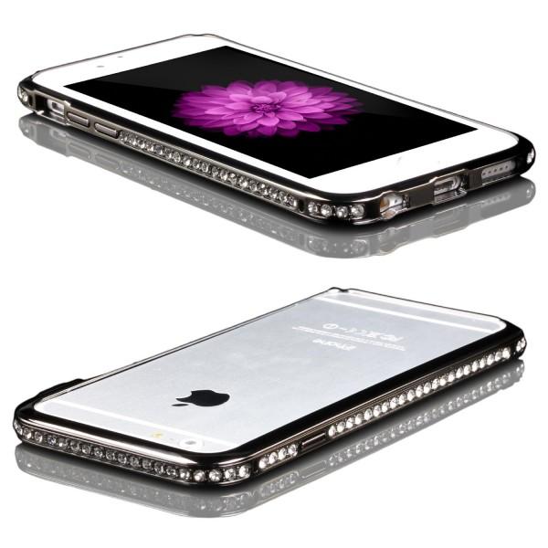 Urcover® Apple iPhone 6 / 6s Alu Handy Schutz Hülle Bumper Hard Case Cover