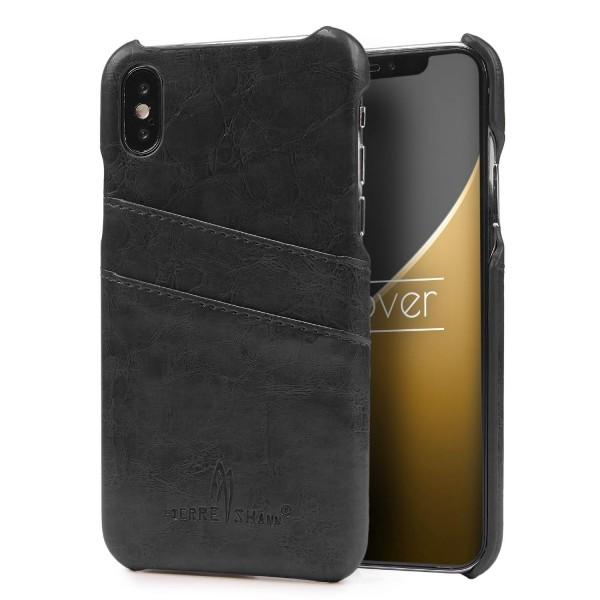 Urcover® Back Case Handy Schutz Hülle Cover Kartenfach Schale Etui