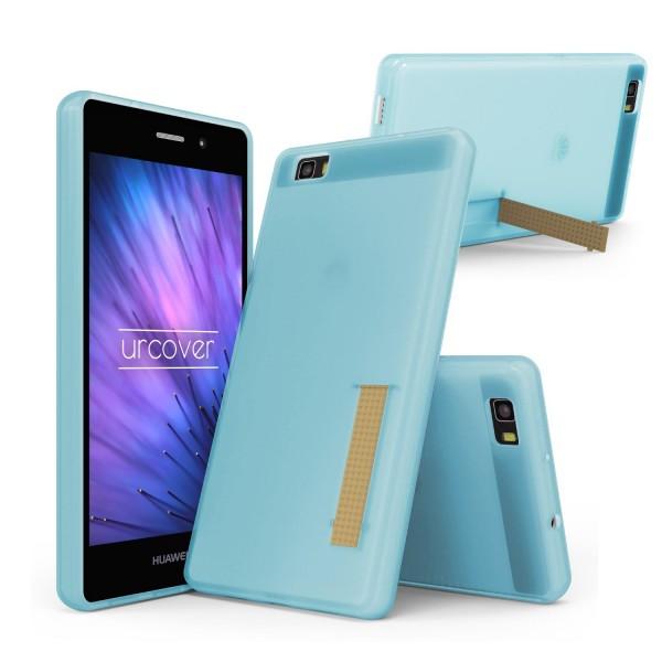 Urcover® Huawei P8 Lite Schutz Hülle mit Standfunktion Soft Case Cover Tasche