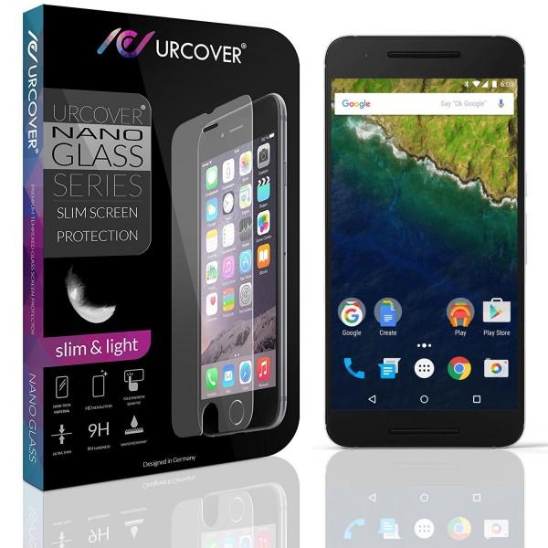 Google Nexus 6P Echt Glas Panzer Display Schutz Folie Ultra Slim Crystal Clear
