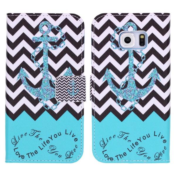 Samsung Galaxy S6 Edge Plus Handy Schutz Hülle Cover Case Wallet Klapphülle Etui